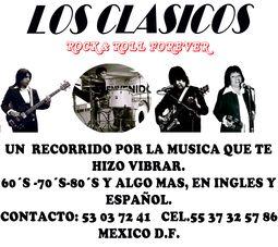 Banda grupo de rock para fiestas ingles español