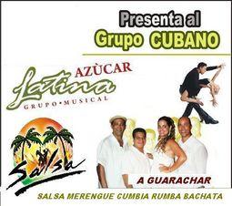 Grupo Cubano versatil Azucar Latina